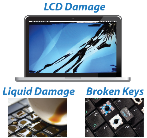 MacBook LCD Screen Damage Repair, MacBook & MacBook Pro Retina Display Replacement, Liquid Damage Repair, Broken Keyboard Repair