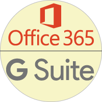 Secure Cloud Based Office Applications, Tools, Storage, Email - Microsoft Office 365® and Google G-Suite.